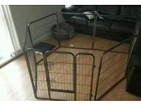 metal new play pen for your puppy