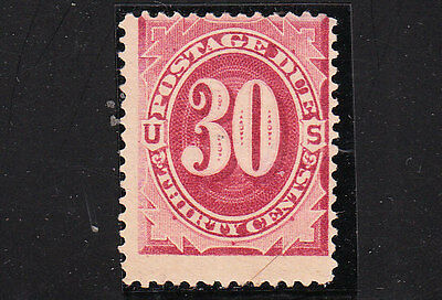 sc#  J27, 30c, bright-claret. Postage Due. Mint