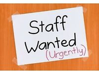 Staff wanted for a milkshake and waffles shop liverpool 9