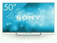 """Sony 50"""" LED smart wi-fi Android tv fully working in mint condition. KDL50W656A"""