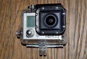 GoPro hero 3 perfect condition comes with accessories
