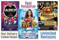 I will design eye catching Bespoke Flyer, Brochure Poster
