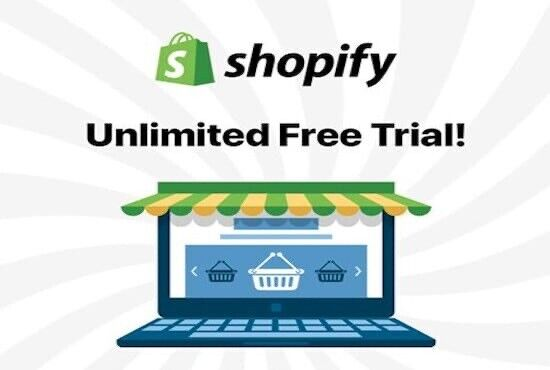 Shopify Free unlimited  create and explore your store.