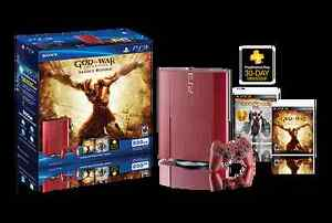 PS3 Slim 500GB God of War edition + 2 controllers + games