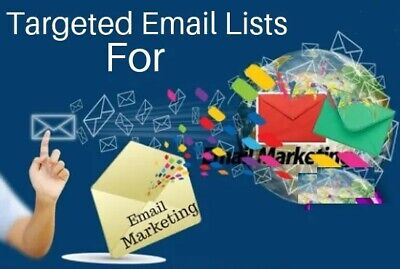 1 Billion Worldwide Email Lists Database Active Vip High Quality Package B2bb2c