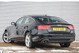 Audi A5 Sportback SLine Black