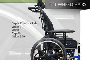 Orion tilting wheel chair