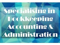 ** Bookkeeping, Accounting & Administrative Services Available **
