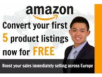 E-Commerce Assistant Services For Product Listings & Customer Services on Ebay Amazon FBA