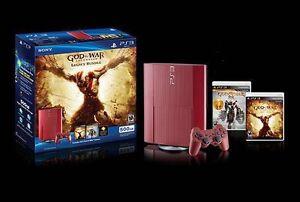 PS3 - God of War Ascension Legacy Bundle (500GB)