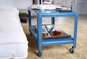 Ikea PS 2012 coffee table in blue