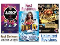 Quality graphic design. Reasonable prices. Fast delivery