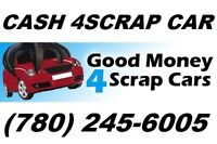 Cash for scrap & junk cars - Edmonton