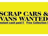 cars vans mot failures non runners wanted