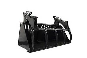 Jenkins HEAVY DUTY High Capacity Grapple Bucket Attachment Comox / Courtenay / Cumberland Comox Valley Area image 2