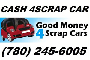 Cash 4scrap cars -Edmonton