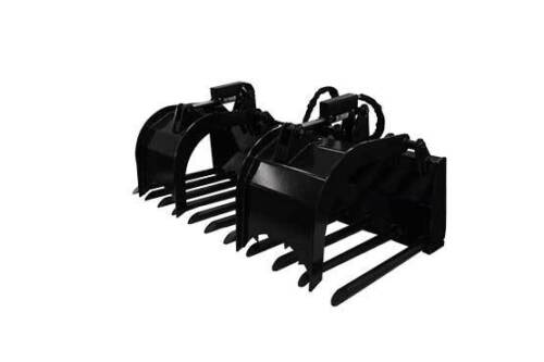 "New 88"" Tine Grapple Skid Steer Attachment *free Shipping*"