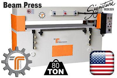 New Cjrtec 80 Ton Beam Clicker Press - Die Cutting Machine