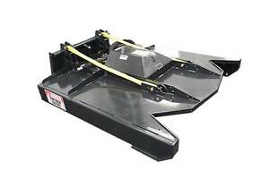 Jenkins HEAVY DUTY Brush Mower Skid Steer Attachment