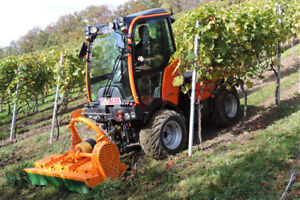 Holder Tractors,  Orchard and Vineyard equipment