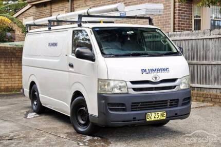 Toyota Hiace work van