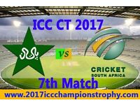 Pakistan vs South Africa ICC Champions Trophy tickets (Silver Category)