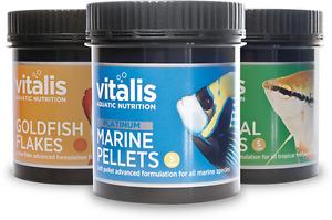 vitalis coral and fish food