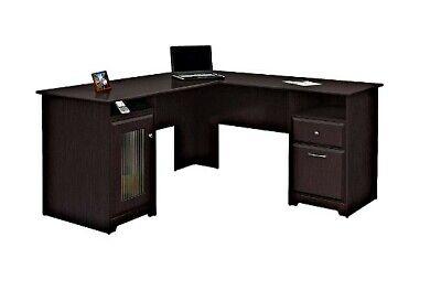 Executive L Shaped Desk Office Corner Furniture Computer Shape Workstation Home  for sale  Naylor