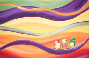 Holiday Gift Ideas! Commissioned Paintings, Murals, Drawings