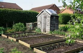 Allotment equipment wanted.
