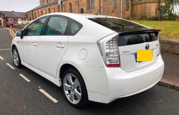 2010 60 Plate Toyota Prius Hybrid Electric Full Dealer Service History Immaculate Economical Car