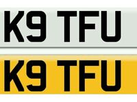 K9 TFU PRIVATE REGISTRATION