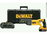 Dewalt-DCS380P1-20V-MAX-Reciprocating-Saw-5.0 Battery-and-Charger-Kit-NEW
