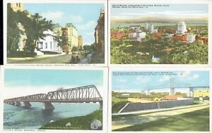 Ten Unused 'Montréal, Quebéc' Post Cards + Two Souvenir Folders Kingston Kingston Area image 2