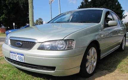 2003 Ford Fairmont BA GHIA V8 Sedan Mount Lawley Stirling Area Preview