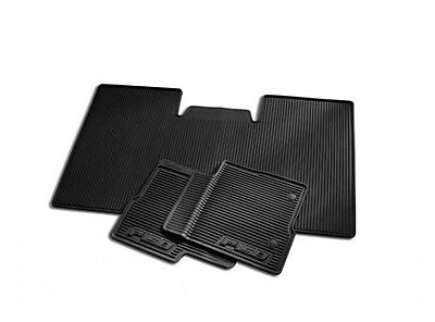2010 2011 2012 2013 2014  FORD F150  SUPER CREW ALL WEATHER FLOOR MATS WO SUB