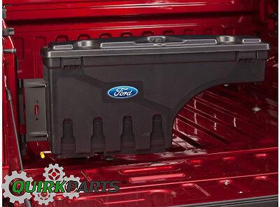 2015-2018 Ford F150 Truck Bed Wheel Well Pivot Tool Box Storage Lockable Left (Wheel Well Box)