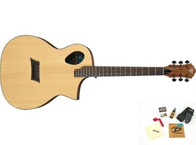 Michael Kelly Forte Port Acoustic-Electric Guitar with Accessories