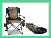 Oztent - 2 Kokoda Chair and 1 Bifold Table - Never used (Oz Tent)