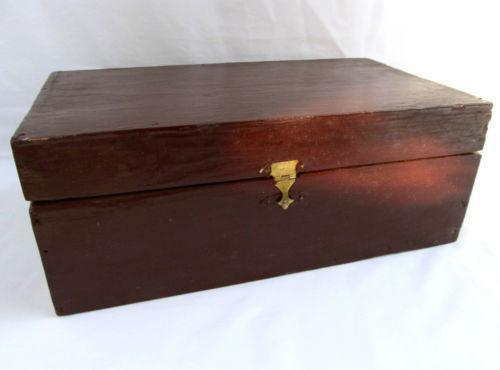Rustic Jewelry Box Ebay