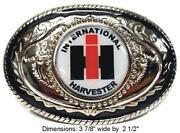International Harvester Belt Buckle
