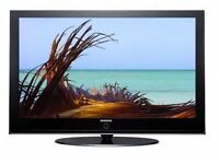 "Samsung 42"" Digital Freeview HDMi HD Tv with remote and warranty"