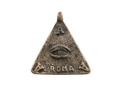 Amulet of Philippines Filipino Eye of La Providence Anting Anting Roma L12