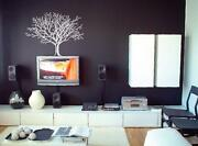 White Tree Wall Decal