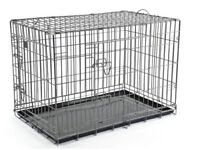 Giant Heavy Duty Dog Cage 48in L x 29.5W x 32H