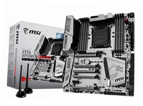 MSI ATX Motherboard 3466MHz (Socket LGA2011-v3) X99AXPOWERGAMTI