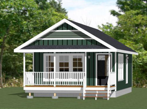 18x30 Tiny House -- 540 sq ft -- PDF Floor Plan - Model 5E