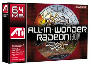 ATI radeon 8500 All in wonder AGP