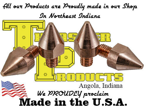 """Chicago Electric Fit Spot Welding Tips 1/8"""" Contact Area  2-Pack (FREE SHIPPING)"""