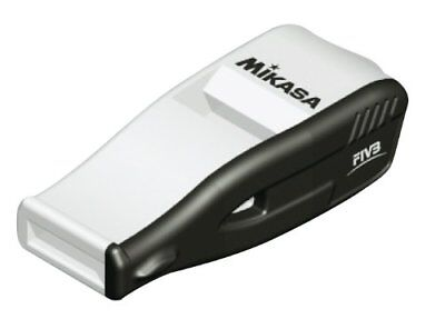 Mikasa Whistle Beat Master White No Cork Black For Volleyball Referee